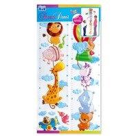 Sticker pentru perete Metrul Zoo