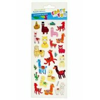 Stickere Alpaca pufoase 22 buc