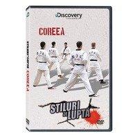DVD Stiluri de lupta: Coreea