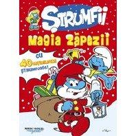 Strumfii - carte de activitati de Craciun si stickere