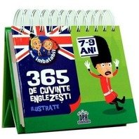 SUNT IMBATABIL - 365  DE CUVINTE ENGLEZESTI ILUSTRATE (7-9 ANI)