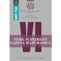 Teme supliment Gazeta Matematica. Clasa a VI-a