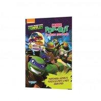 Testoasele Ninja  -  Carte cu activitati si mascute Pop-Up incluse