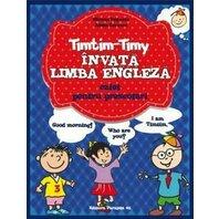 TIMTIM-TIMY INVATA LIMBA ENGLEZA. PRESCOLARI