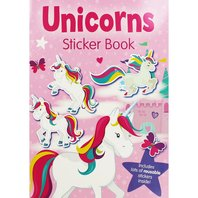 UNICORNS carte cu stickere