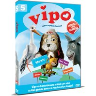 Vipo descopera lumea / Vipo: Adventures of the Flying Dog - Sezonul 1 Volumul 5 - DVD