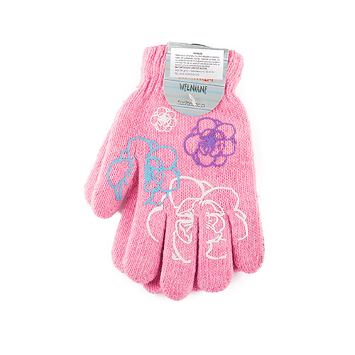 Wool gloves for girls R119G ABS (A)