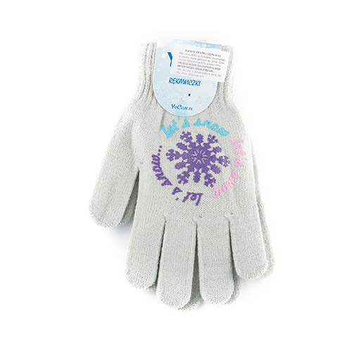 ABS acrylic gloves for girls R12G (A)