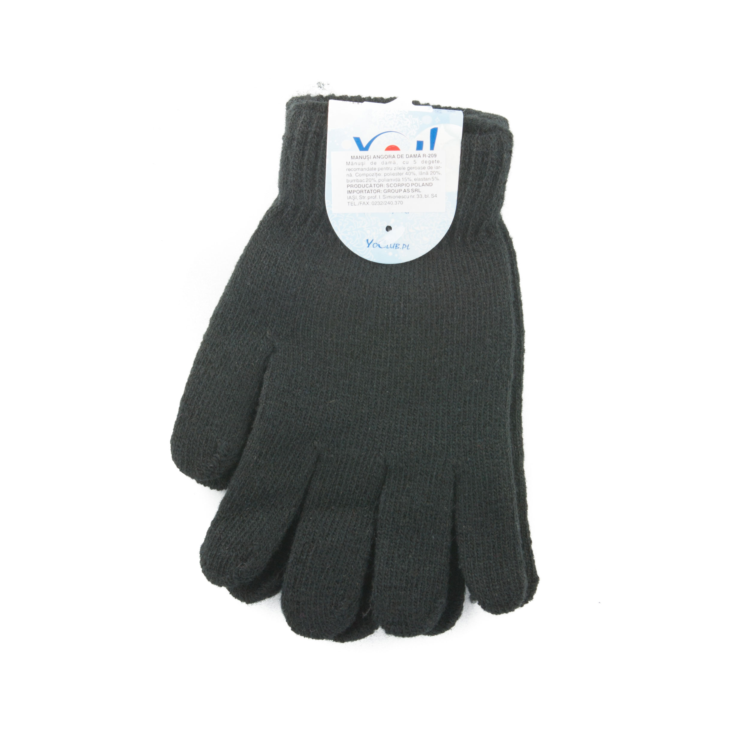 Angora wool gloves R209