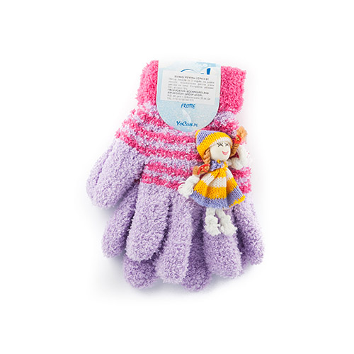 Frot gloves with toy for girls R91G(A)