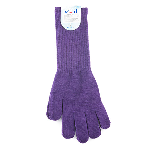 Colored acrylic long gloves R98C (A)
