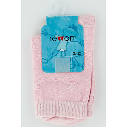 Ladies jacquard cotton socks 103-002