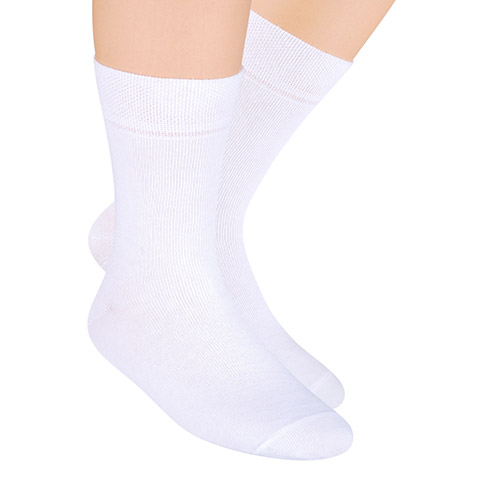 SOCKS FOR BOYS, S001 WHITE