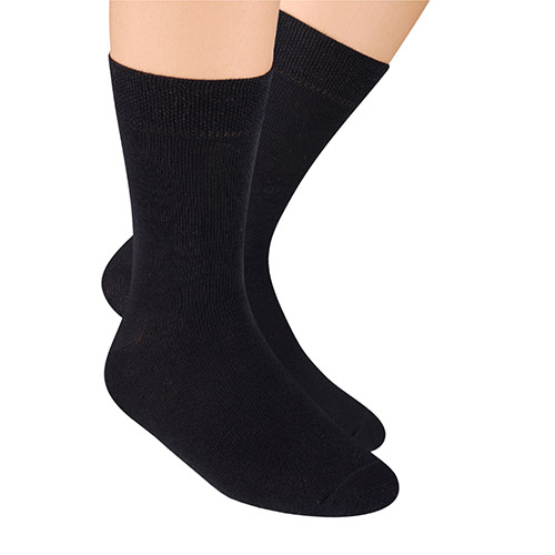 SOCKS FOR BOYS, S001 BLACK