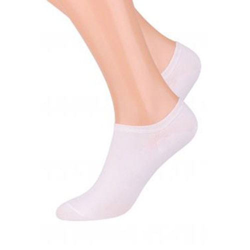 INVISIBLE PEDOLINE SOCKS, S007 WHITE