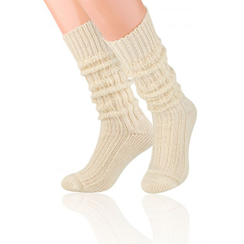 Natural Wool Socks, S008 Aran