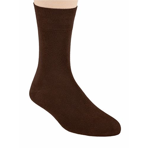 BAMBOO SOCKS, S086 BROWN