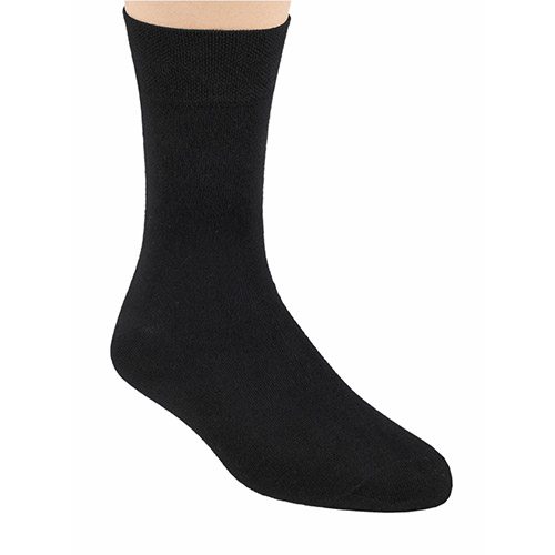 BAMBOO SOCKS, S086 BLACK