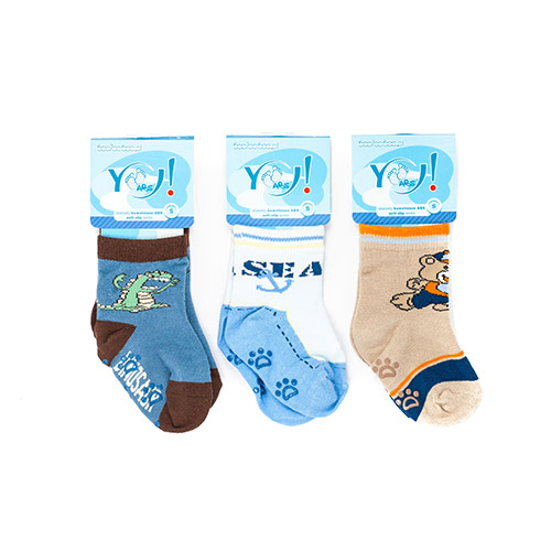 ABS colored socks for boys SK06ABS-B