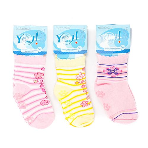 ABS colored socks for girls SK06ABS-G