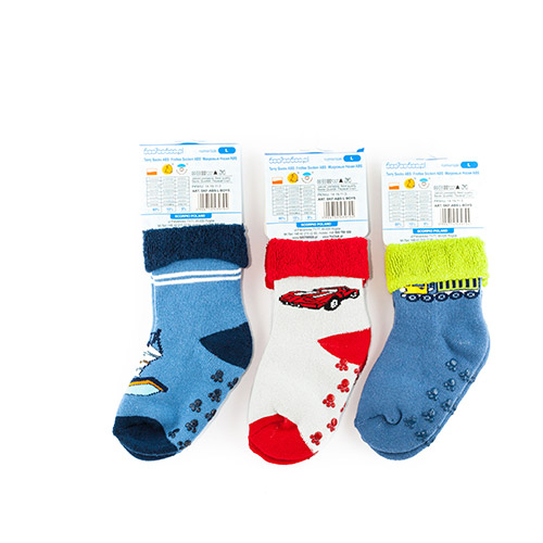 Terry socks with ABS for boys SKFABS-B