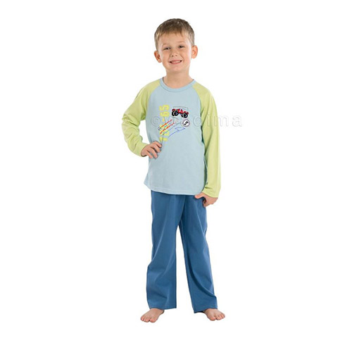 BOYS LONG SLEEVE PAJAMAS 504-012