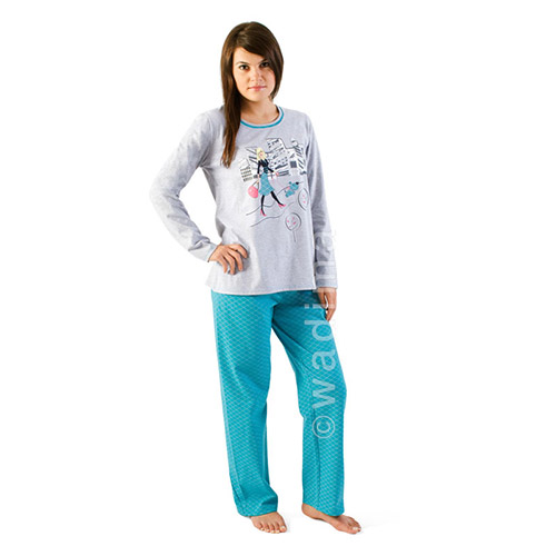 LONG SLEEVE PAJAMAS 104-169