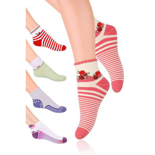 Ankle socks for girls S004