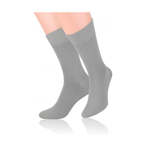 Bambus socks shoes S124 gray