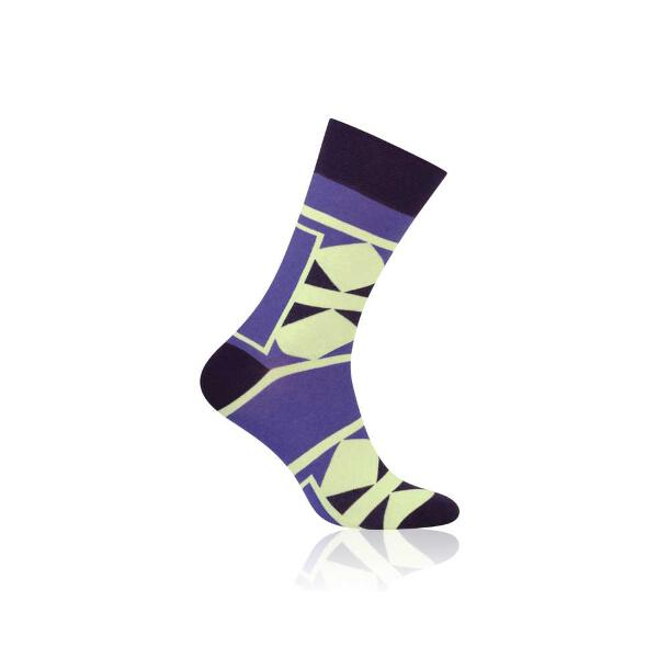 Premium men socks S079 Square09