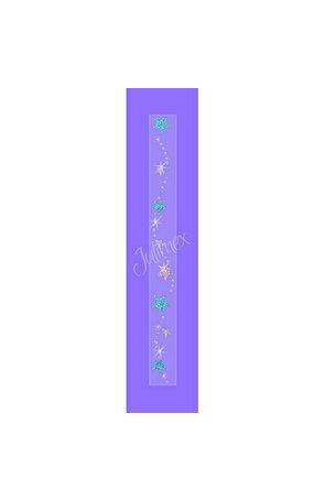 Bretele transparente sutien glitter RK-170