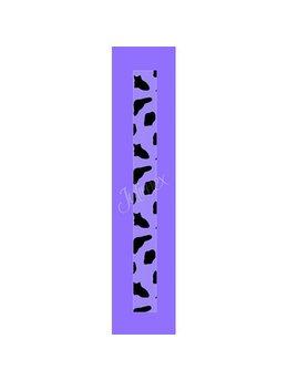 Bretele transparente sutien glitter RK-188