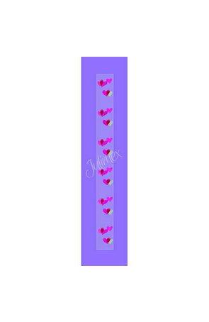 Bretele transparente sutien glitter RK-194