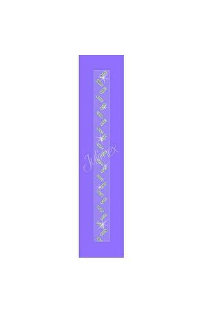 Bretele transparente sutien glitter RK-350