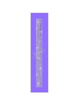 Bretele transparente sutien glitter RK-36