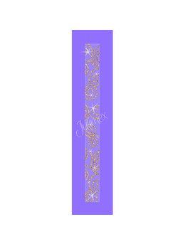 Bretele transparente sutien glitter RK-78