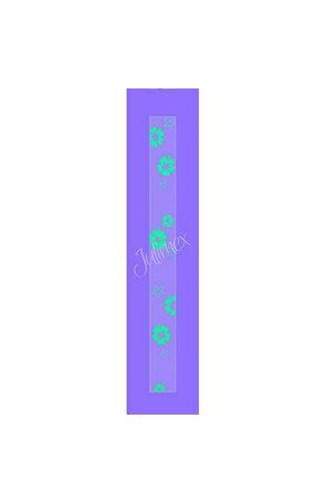 Bretele transparente pentru sutien cu model printat