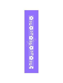 Bretele transparente sutien, model printat RK-131