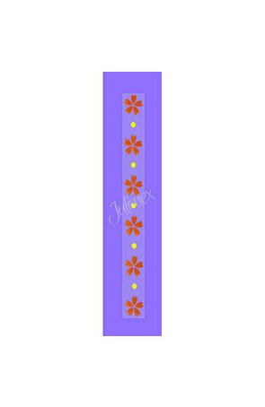Bretele transparente sutien, model printat RK-133