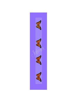 Bretele transparente sutien, model printat RK-138