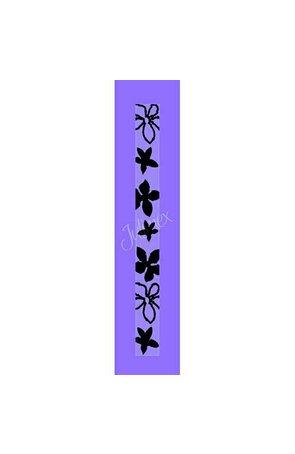 Bretele transparente sutien, model printat RK-152
