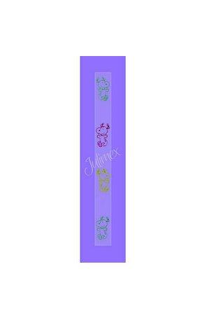 Bretele transparente sutien, model printat  RK-16