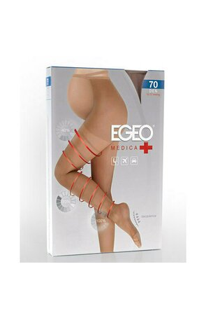 Ciorapi cu compresie graduala EGEO MEDICA 70 gravide