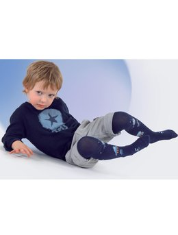 Ciorapi pantalon cu model pt baieti 501-004B