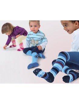 Ciorapi pantalon flausati cu ABS pt baieti 534-013ABS-B