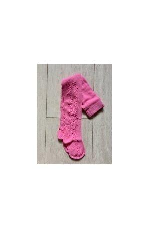 Ciorapi pantalon jacard cu model din bumbac pt fete 507-004