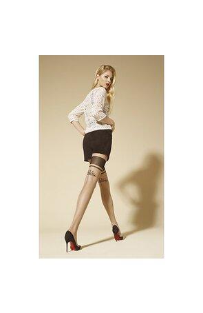 Ciorapi subtiri cu model ALLURE F01