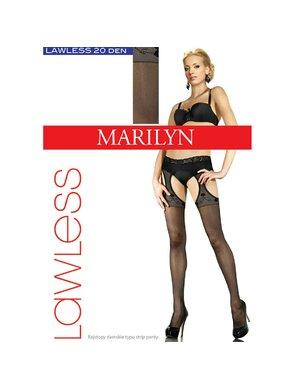 Ciorapi subtiri cu model LAWLESS SEXY