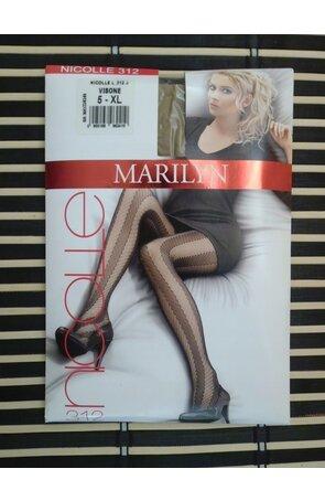 Ciorapi subtiri cu model Nicolle 312