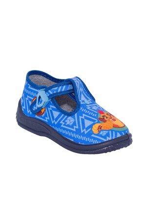 Pantofi DISNEY053 LION albastri
